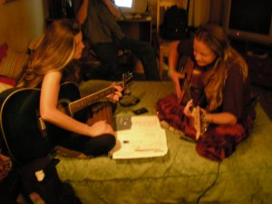 D & M Playing Music