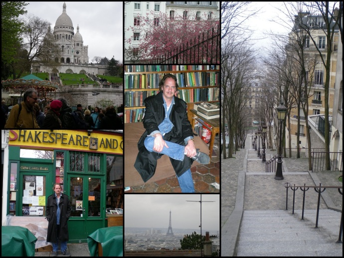 Sacré Coeur and Shakespeare and Company